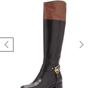 NIB Michael Kors Fulton Harness Riding Boot 9.5